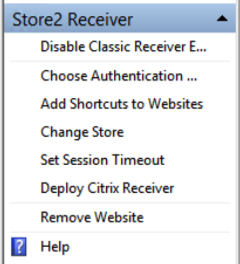 Citrix StoreFront… The tale of two Stores  Hiding