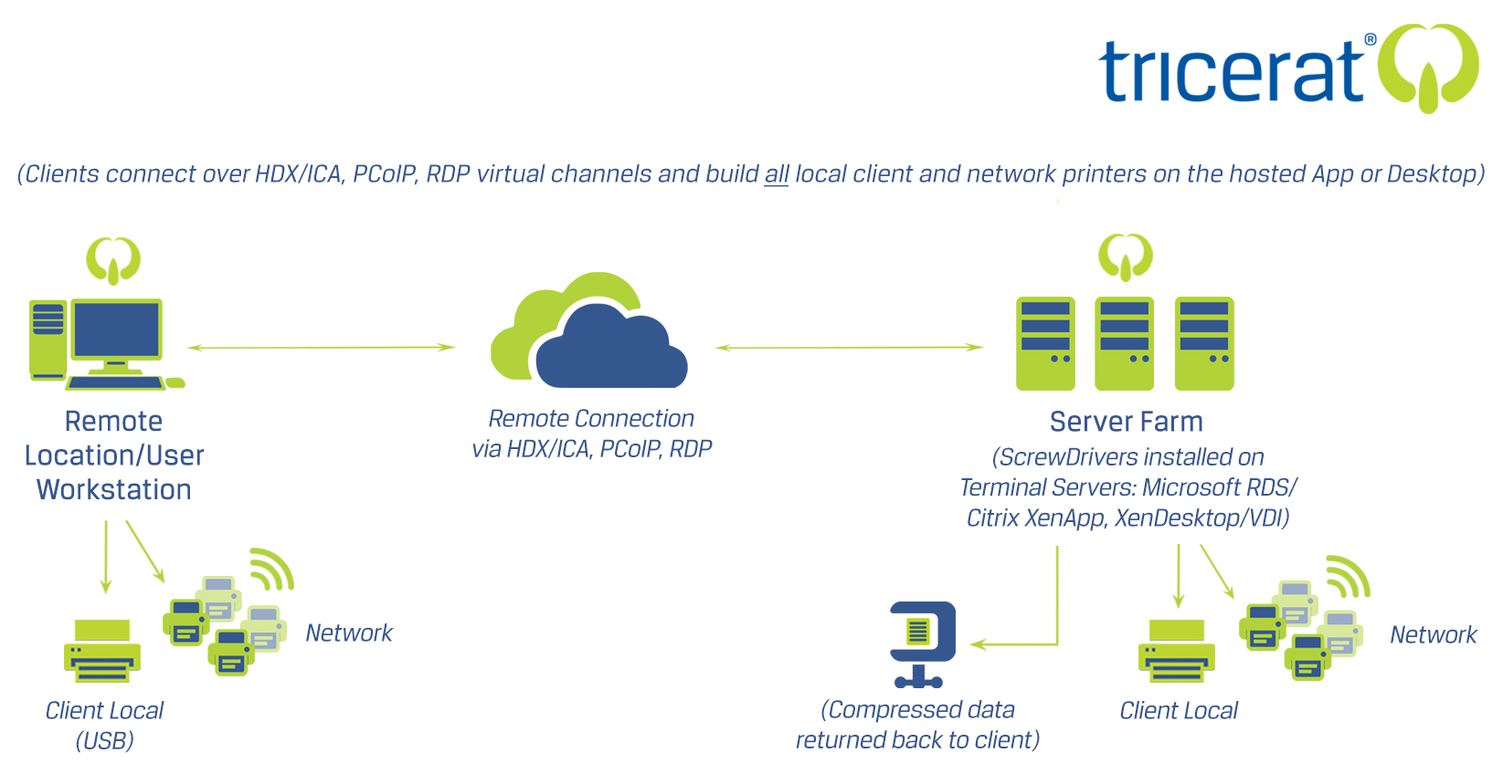 Focus On Citrix Or Vmware Microsoft Not Printing Diagram Of A Local Area Network Showing How Workstations Are Connected